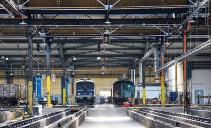 PKP Intercity przebuduje halę lokomotywowni na stacji postojowej we Wrocławiu