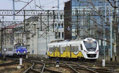 W lutym 2021 r. pociągi przewiozły 14,3 mln pasażerów
