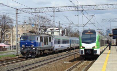 Punktualność pociągów pasażerskich w I kwartale 2021
