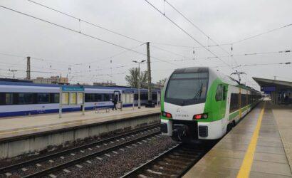 W kwietniu koleją podróżowało 14 mln pasażerów