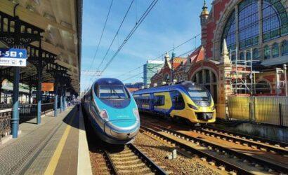 W sierpniu pociągami podróżowało blisko 25 mln pasażerów