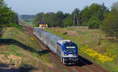 Czy lokomotywy Gama powrócą na lubuskie szlaki z pociągami PKP Intercity?