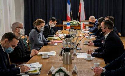 Polsko-francuskie rozmowy o CPK i KDP
