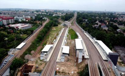 Kraków Bronowice gotowy na przyjęcie podróżnych