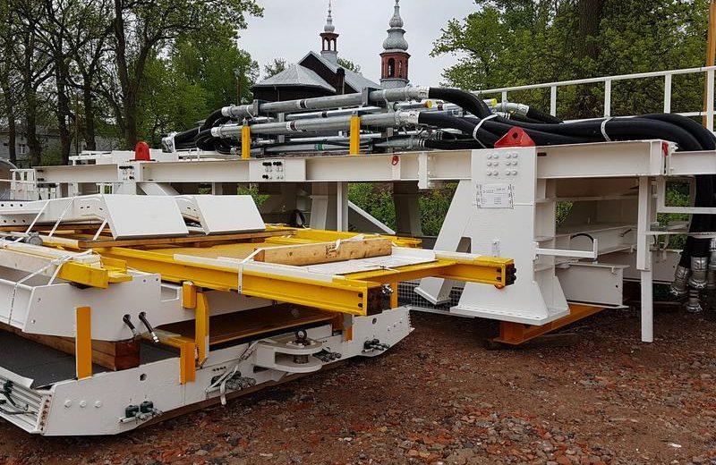 Druga największa maszyna TBM w drodze do Łodzi