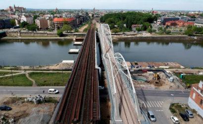 W Krakowie pociągi pojadą nowym mostem