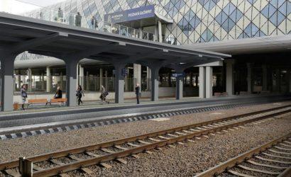 Na stacji Poznań Główny powstaje nowy peron