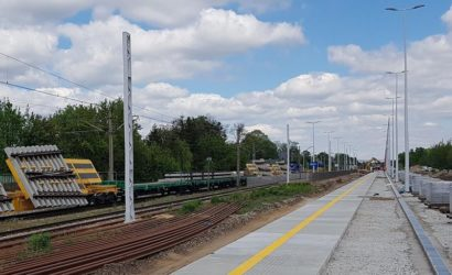 Powstają nowe perony w Zgierzu i Łodzi Żabieńcu