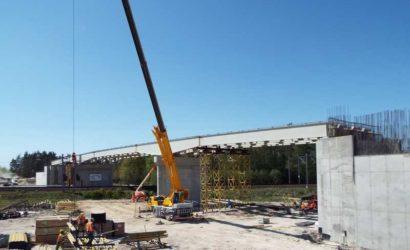 Trwa budowa czterech wiaduktów nad torami CMK [galeria]