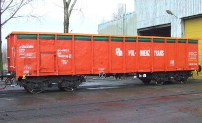 Pol-Miedź Trans sprzedaje 26 wagonów typu 409W