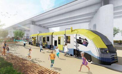 Pod krakowskimi estakadami kolejowymi powstanie park