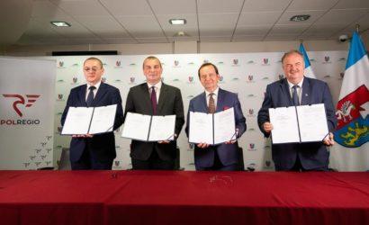 Podkarpackie podpisało z Polregio umowę wartą 466 mln zł