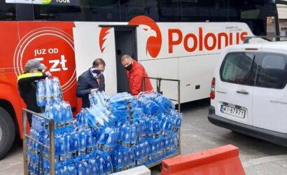 Fundacja Grupy PKP i Polonus wsparli potrzebujących w dobie pandemii