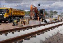 21 km nowych torów zostało ułożonych do portów w Szczecinie i Świnoujściu