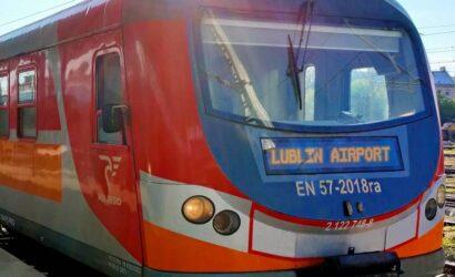Pociągi Polregio ponownie jedzą do lotniska Lublin AIRPORT