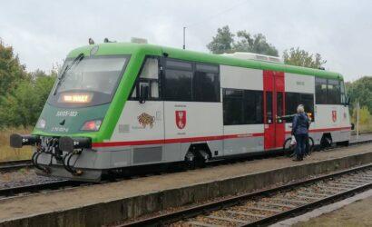 Polregio podsumowało miesiąc kursowania pociągów na trasie Białystok – Waliły