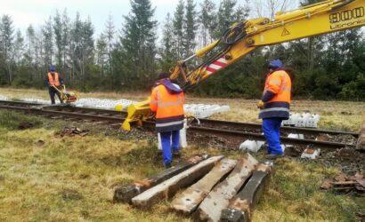 PLK wznawiają modernizację linii między Chojnicami a Kościerzyną