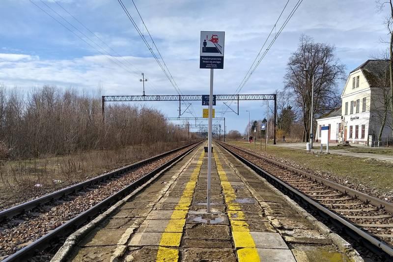 PLK zmodernizują perony w Leopoldowie i Sarnowie