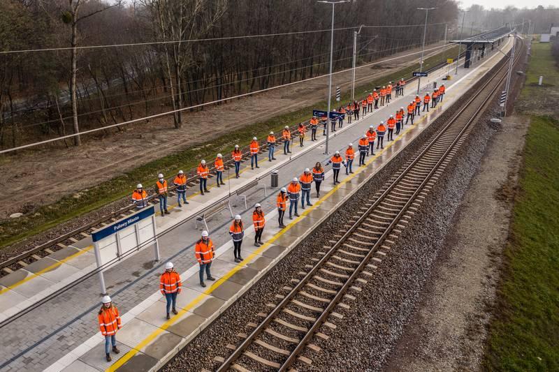 Budimex z nagrodą TOP Builder za modernizację odcinka z Otwocka do Nałęczowa
