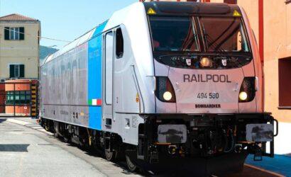 Alstom dostarcza 10. lokomotywę Traxx DC3 do Railpool we Włoszech