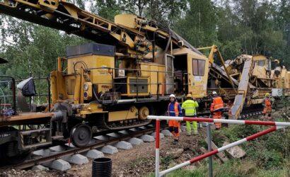 PKP PLK za 129 mln zł rewitalizują linię łączącą Małopolskę z Podbeskidziem.