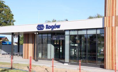 Dworzec w Rogowie zostanie otwarty do końca roku
