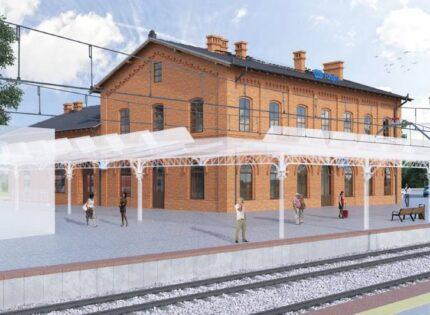 PKP S.A. wybrały wykonawcę przebudowy dworca w Rzepinie
