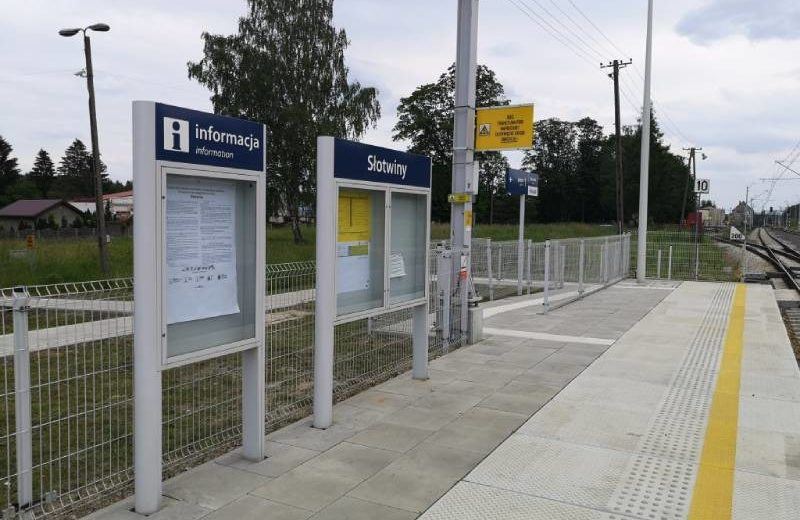 Rozpoczęła się modernizacja peronu nr 2 na stacji Słotwiny