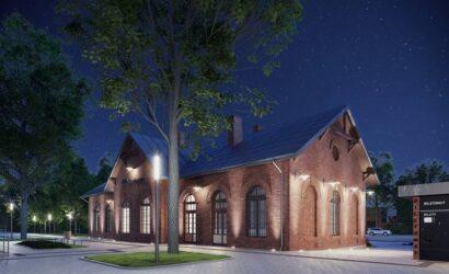 PKP S.A. ogłosiły przetarg na przebudowę dworca w Sochaczewie [WIZUALIZACJE]