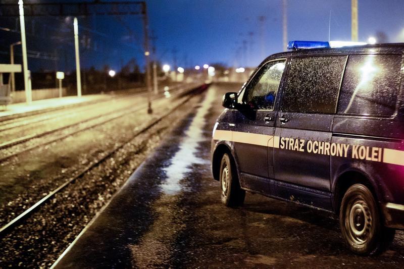 Złodziej infrastruktury w rękach Straży Ochrony Kolei