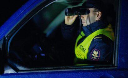 Podczas ucieczki złodziej próbował najechać na funkcjonariusza SOK