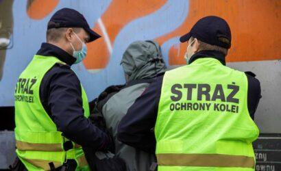 Łódź: grafficiarze zatrzymani na gorącym uczynku