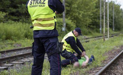 Graficiarz ranił funkcjonariusza SOK podczas interwencji