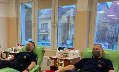 Funkcjonariusze SOK oddali blisko 50 litrów osocza i krwi