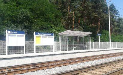 W Solcu Wlkp. pasażerowie korzystają już z drugiego przebudowanego peronu