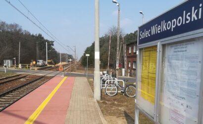 W Solcu Wielkopolskim i Łęce Opatowskiej powstają nowe perony