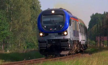Specjalny pociąg dla obywateli Litwy przejechał przez Polskę