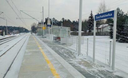 W Turznie i Suchatówce łatwiej wsiąść do pociągu