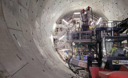 Łódź: maszyna TBM Katarzyna wykonała ponad 20 m tunelu