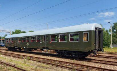 Fundacja Era Parowozów zakończyła remont bezprzedziałowego wagonu typu 120A