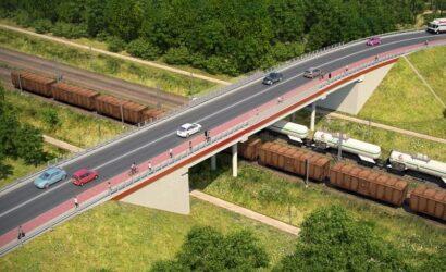W Kobyłce powstanie nowy wiadukt nad Rail Baltica