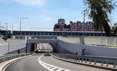 W Kościanie kierowcy korzystają z nowego wiaduktu