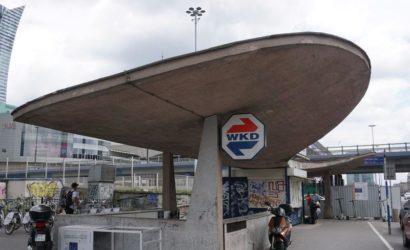 Wiata kolejowa Warszawa Śródmieście WKD została wpisana do rejestru zabytków