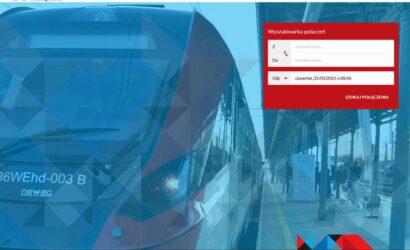 Koleje Wielkopolskie uruchomiły nowy system sprzedaży biletów online