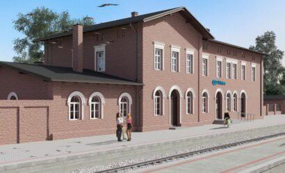 PKP S.A. podpisały umowę na przebudowę dworca w Witnicy