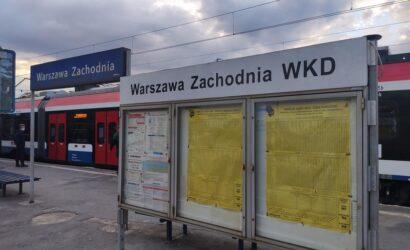 Ograniczenia w kursowaniu pociągów WKD w dwa ostatnie majowe weekendy