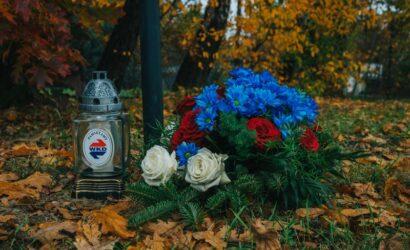 Uczczenie pamięci zmarłych pracowników EKD/WKD
