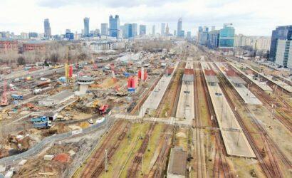Od 26 marca zwiększy się zakres prac na stacji Warszawa Zachodnia