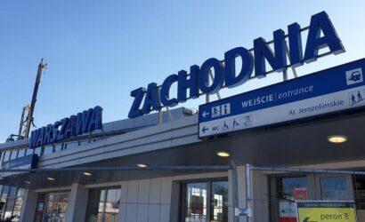 Rozpoczyna się kolejny etap prac na stacji Warszawa Zach.