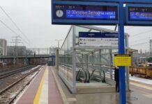 Pasażerowie korzystają już z peronu nr 4 na stacji Warszawa Gdańska